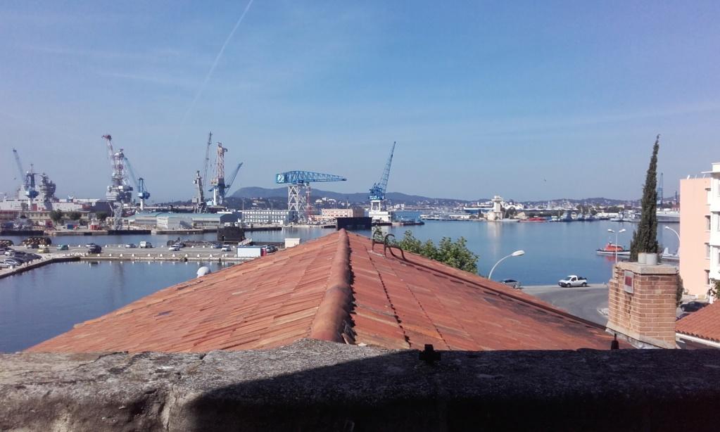 [LES PORTS MILITAIRES DE MÉTROPOLE] De la création de l'arsenal de Toulon à aujourd'hui la base navale 05515