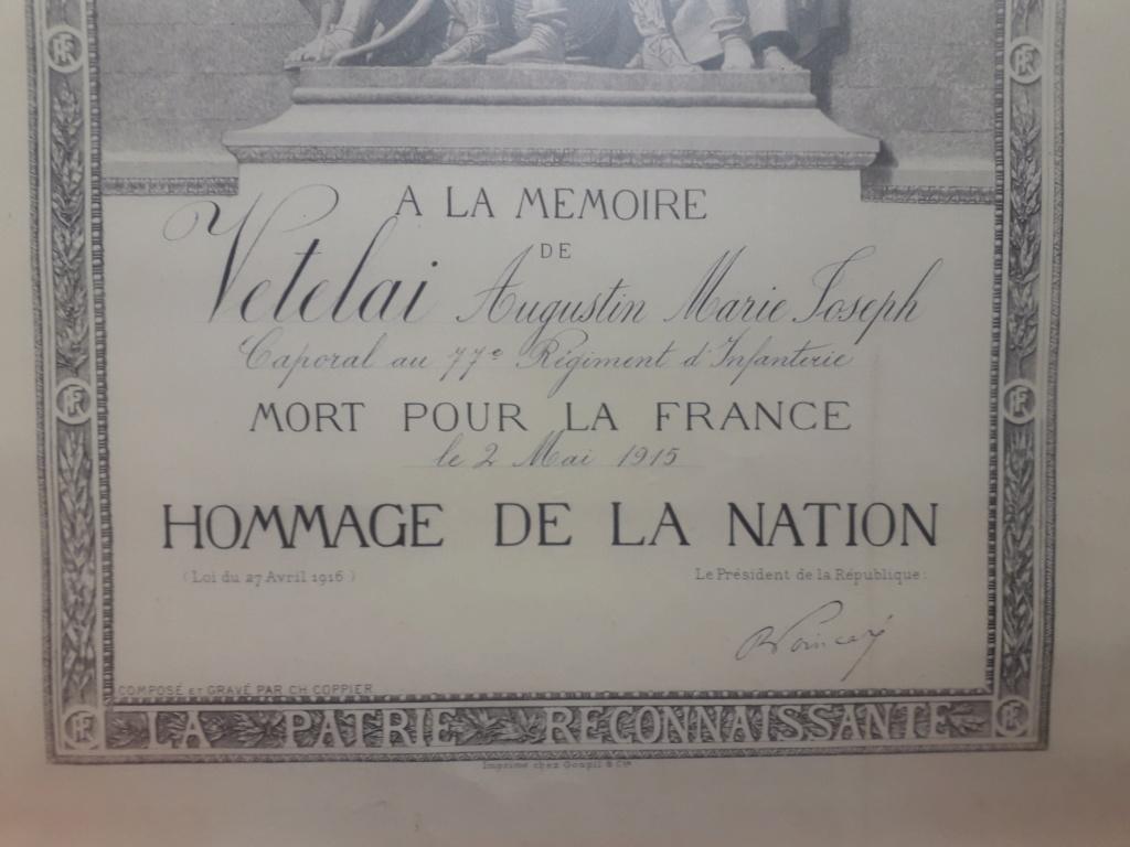 [HISTOIRES ET HISTOIRE] [SUJET UNIQUE] LE CENTENAIRE DE LA GRANDE GUERRE - Page 19 10910
