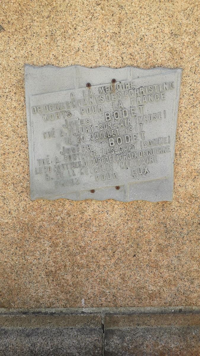 [ Histoires et histoire ] Monuments aux morts originaux Français Tome 2 - Page 16 143_co10