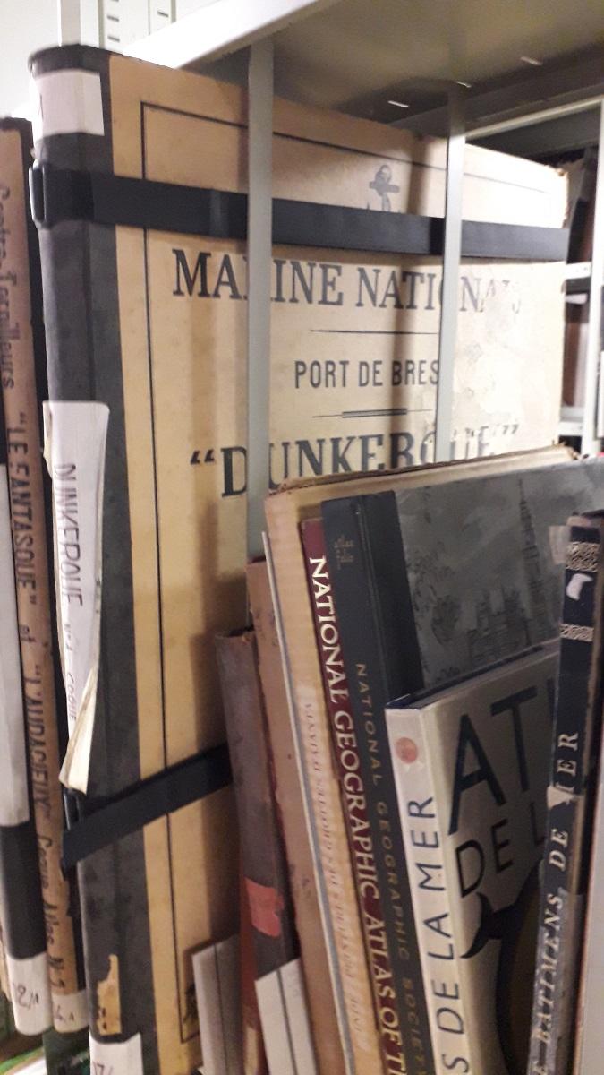[ Les ports militaires de métropole ] Bibliothèque du service historique de la Défense de Toulon 20200185