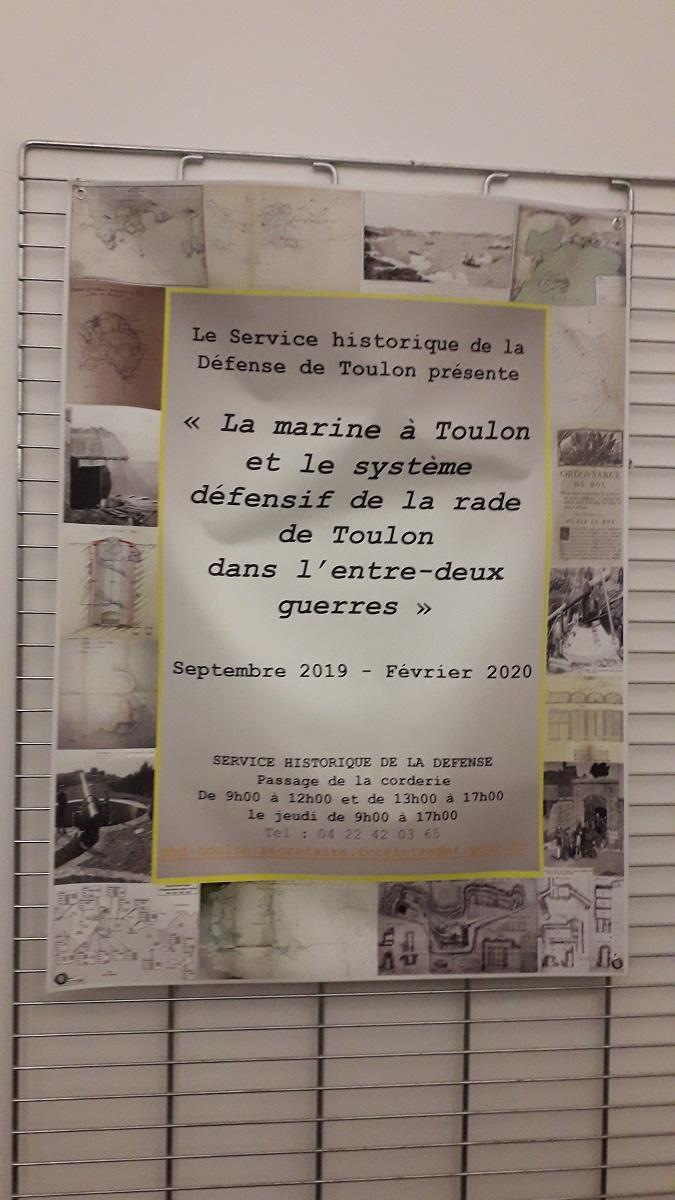 [ Les ports militaires de métropole ] Bibliothèque du service historique de la Défense de Toulon 20200202