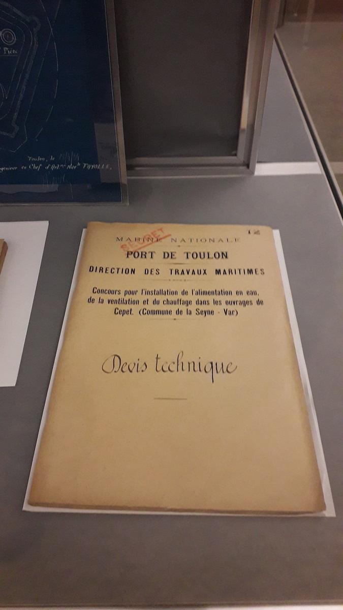 [ Les ports militaires de métropole ] Bibliothèque du service historique de la Défense de Toulon 20200205