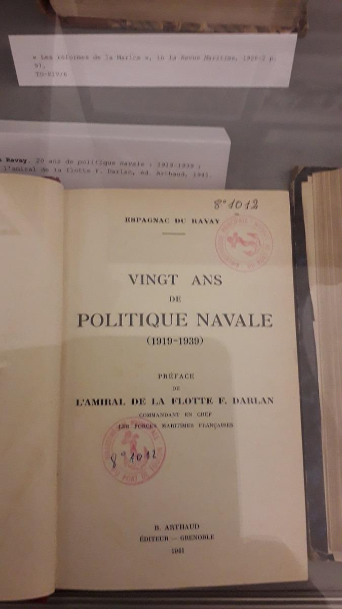 [ Les ports militaires de métropole ] Bibliothèque du service historique de la Défense de Toulon 20200215