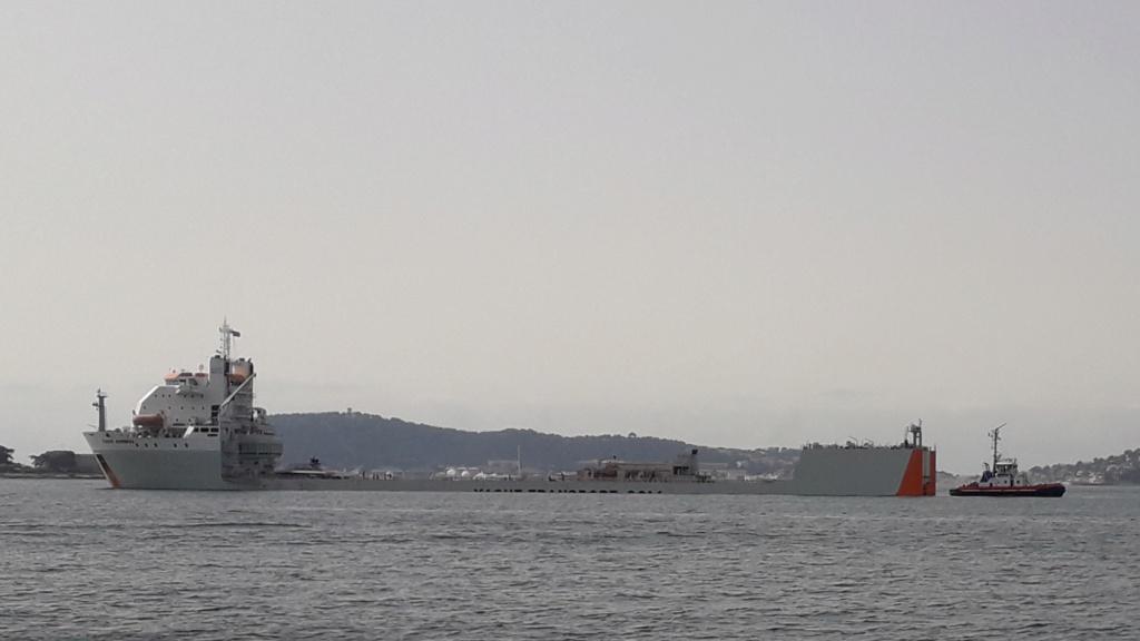 [Autre sujet Marine Nationale] Démantèlement, déconstruction des navires - TOME 2 - Page 21 20210617