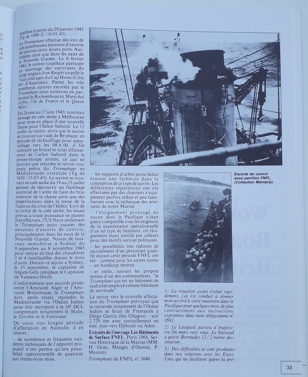 [ Blog visiteurs ] Recherche l'histoire détaillée du Triomphant juin 1940 quittant la France à destination de Plymouth 20210632