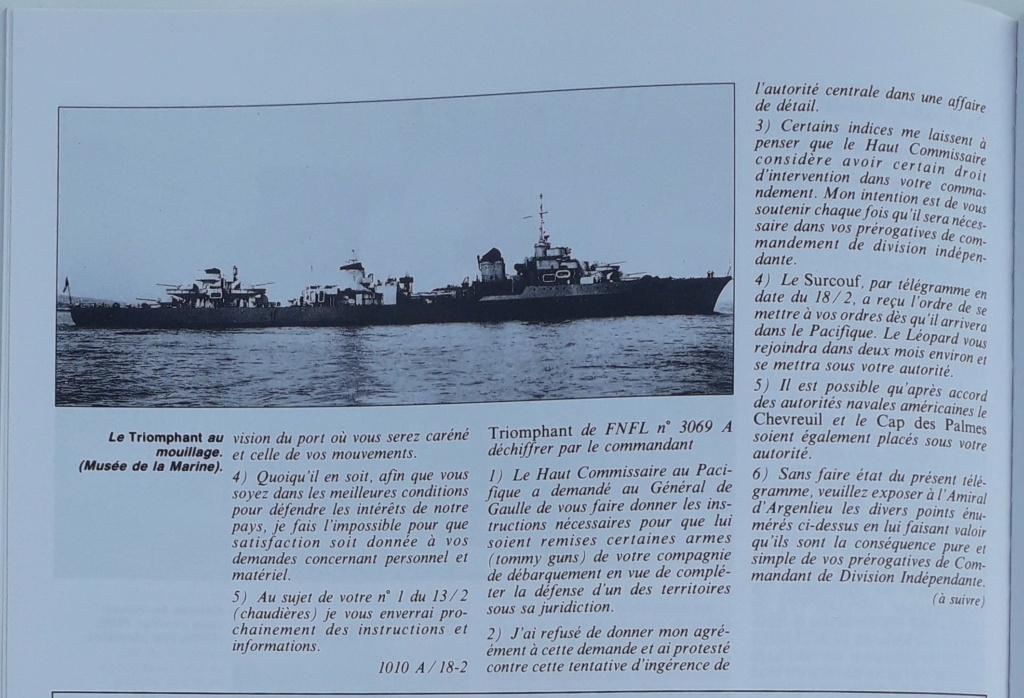[ Blog visiteurs ] Recherche l'histoire détaillée du Triomphant juin 1940 quittant la France à destination de Plymouth 20210634