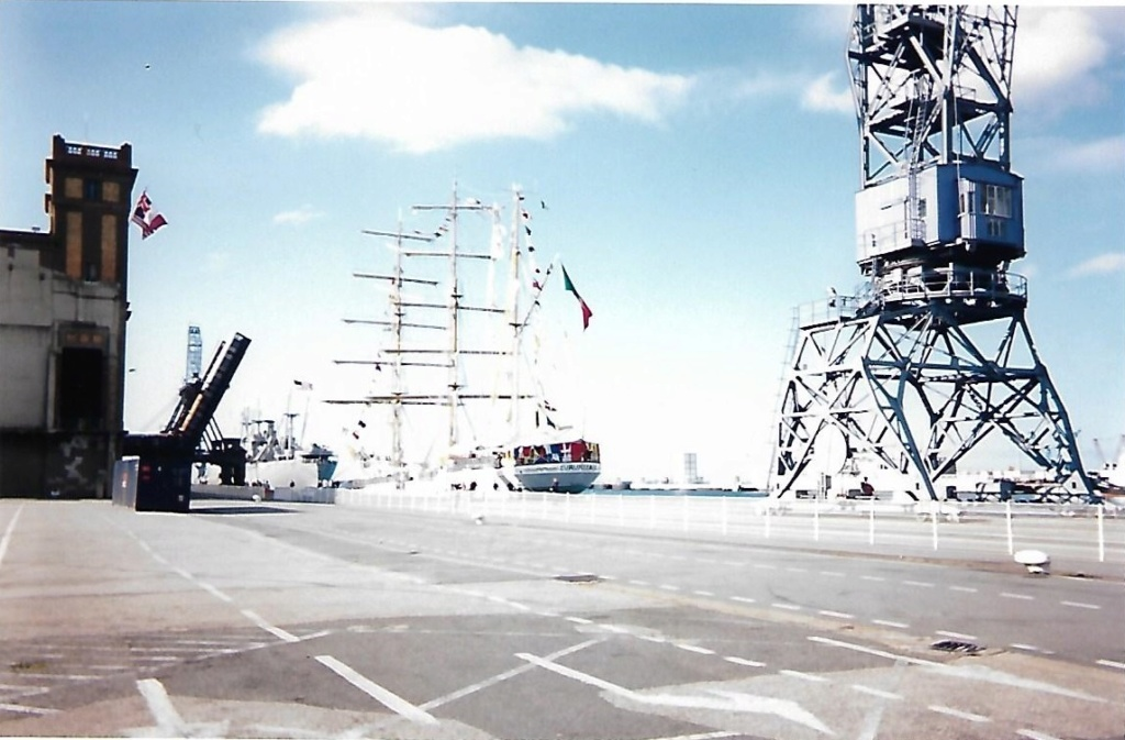 [ Marine à voile ] Le Cuauhtemoc à Cherbourg. Scan0121