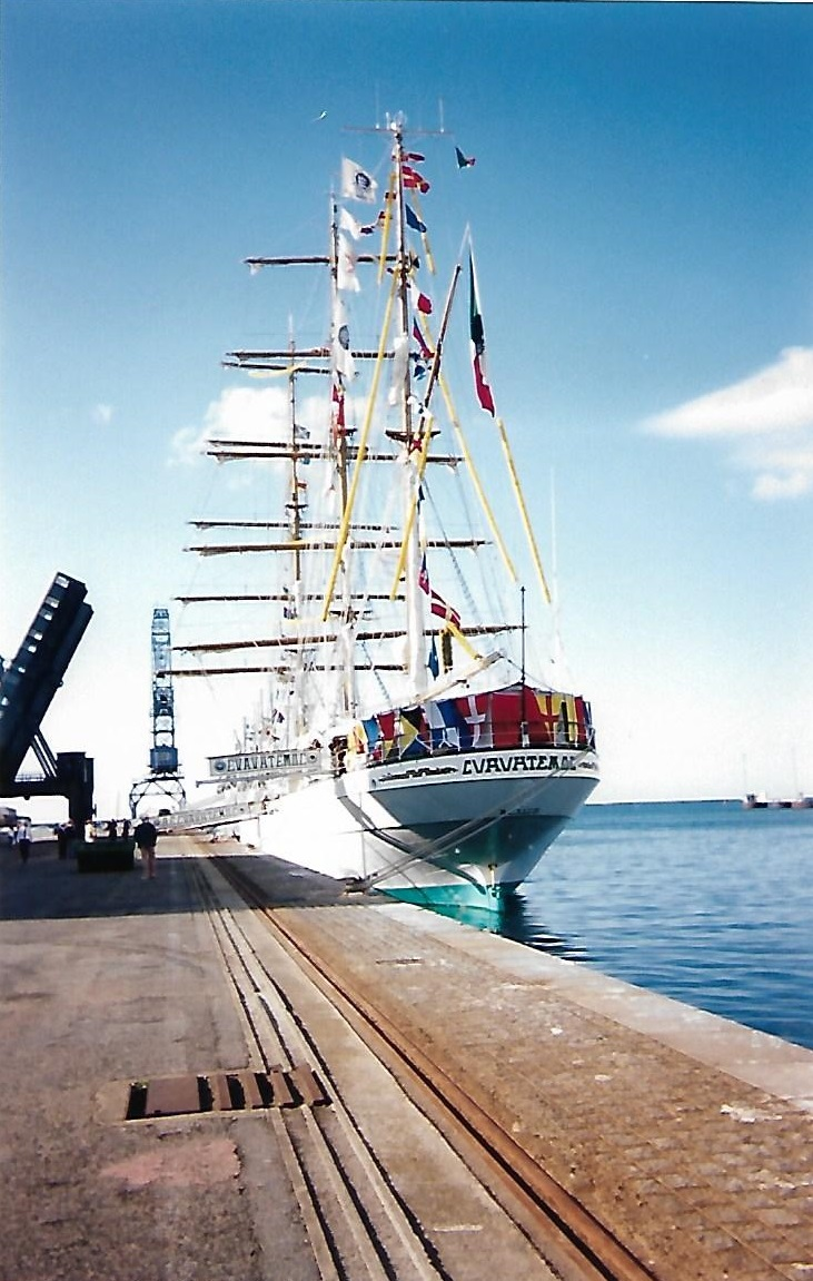 [ Marine à voile ] Le Cuauhtemoc à Cherbourg. Scan0123