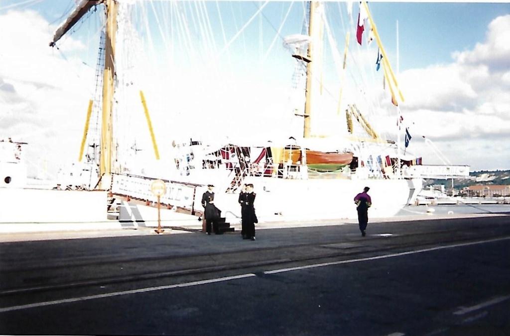 [ Marine à voile ] Le Cuauhtemoc à Cherbourg. Scan0124