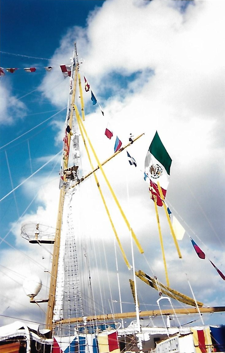 [ Marine à voile ] Le Cuauhtemoc à Cherbourg. Scan0125