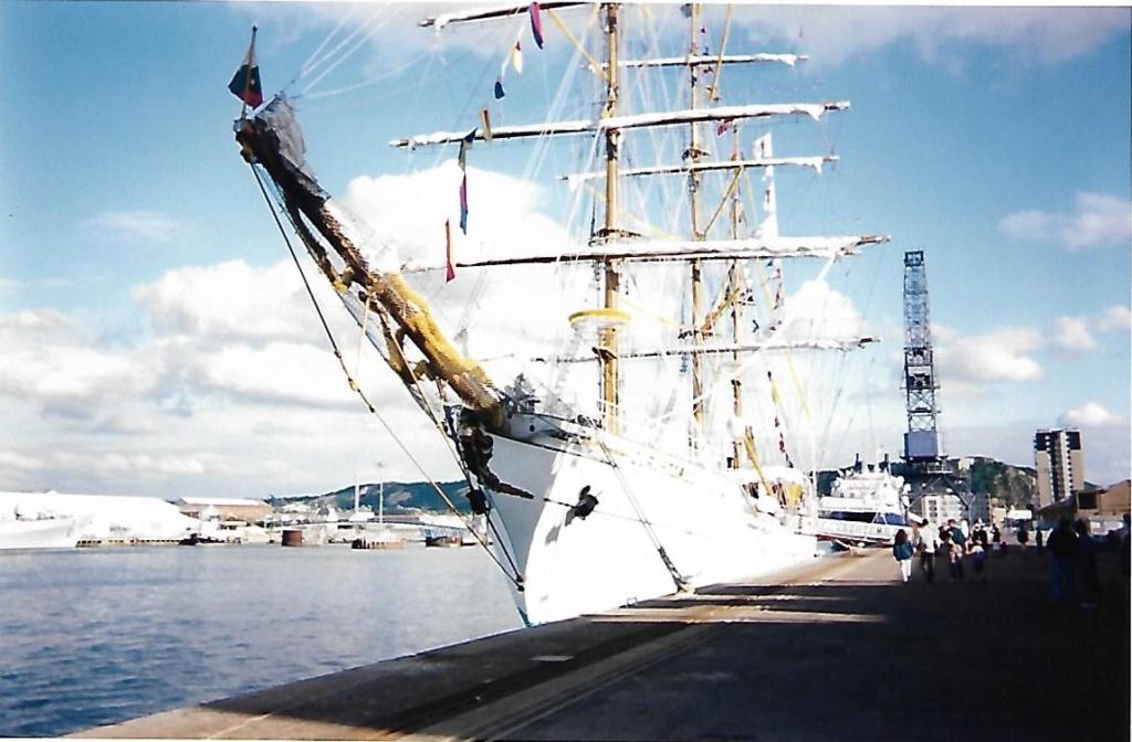 [ Marine à voile ] Le Cuauhtemoc à Cherbourg. Scan0128
