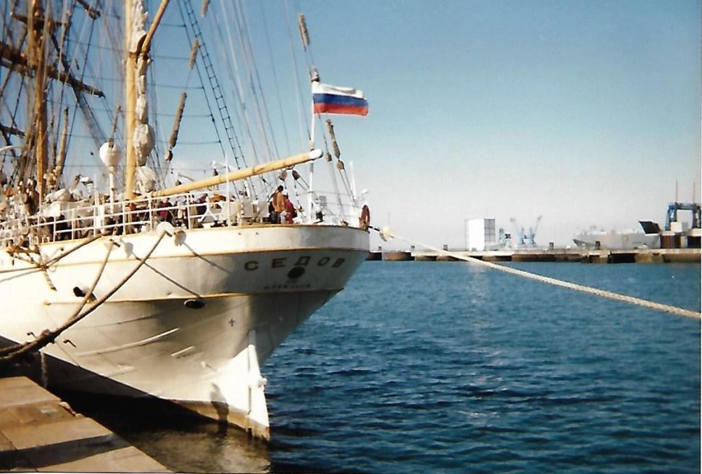 [ Marine à voile ] Le Sedov à Cherbourg. Scan0162