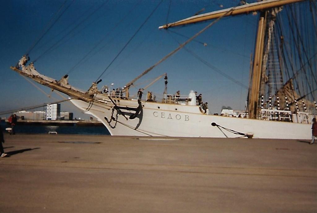 [ Marine à voile ] Le Sedov à Cherbourg. Scan0165