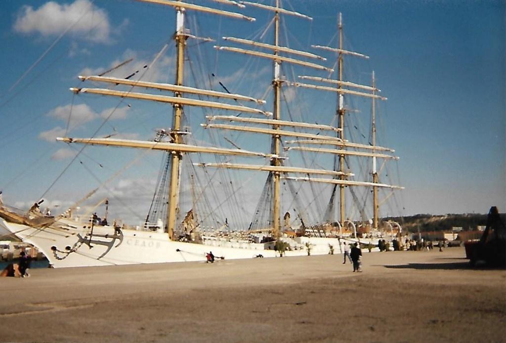 [ Marine à voile ] Le Sedov à Cherbourg. Scan0166