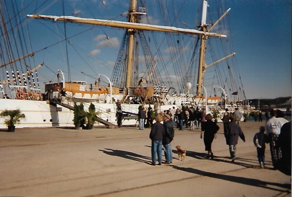 [ Marine à voile ] Le Sedov à Cherbourg. Scan0168
