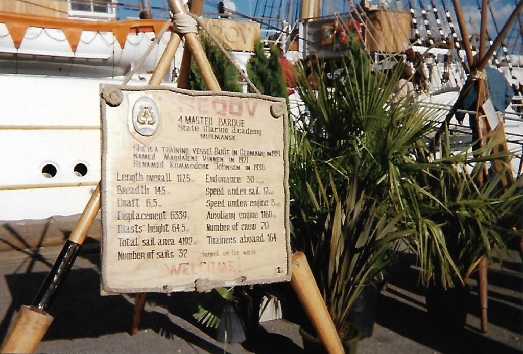 [ Marine à voile ] Le Sedov à Cherbourg. Scan0172
