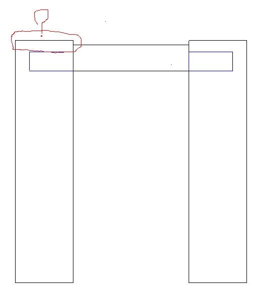Table basse  de salon carrée  en chène  Depass10