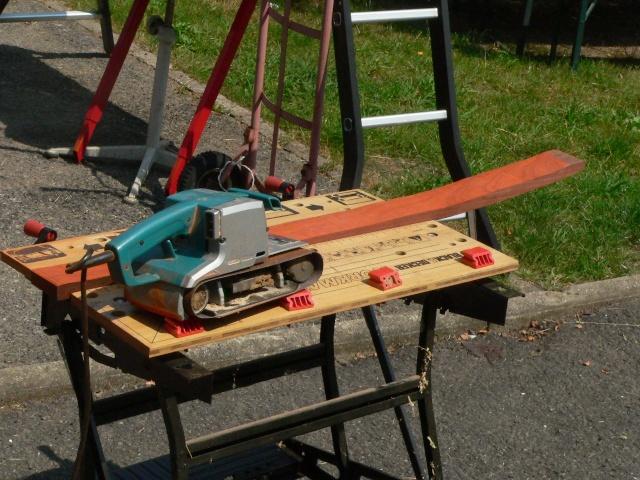 Construction d'une palissage en partie arrondie P1020214