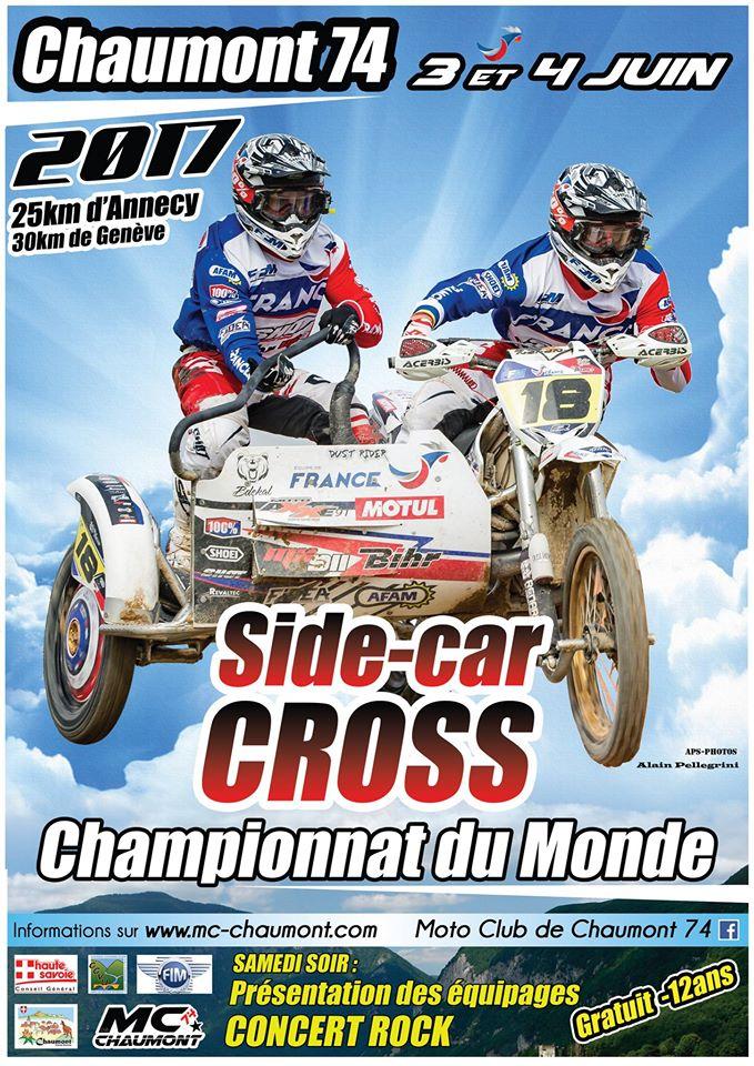 Champioonnat du Monde de Side-car CROSS à Chaumont (74)  les 3 et 4 juin 2017 Sise-c10