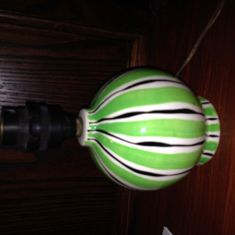 Pre or post WWII lamp base Image20