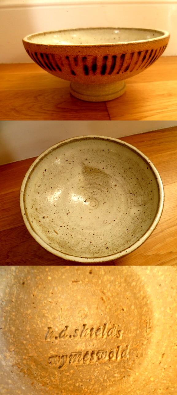 H D Shields Wymeswold Stoneware Bowl Shield10