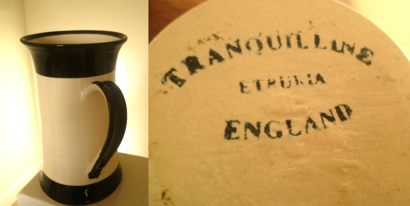 Large 18.5 cm Tankard Tranquil line Etruria Tranqu10