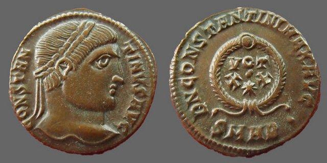 Nummus Constantin Ier  16407r10