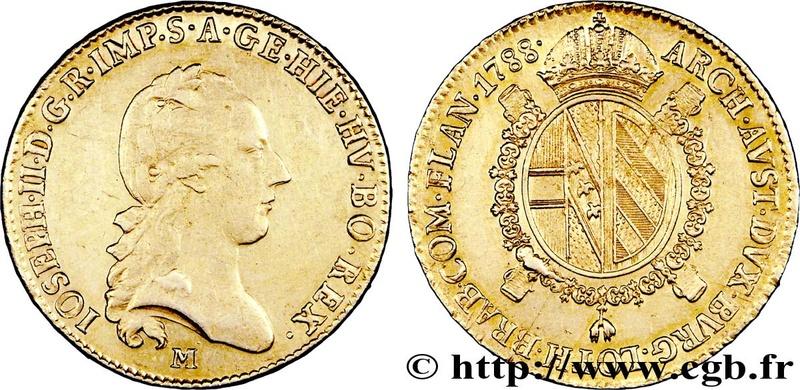 Poids monétaire Souverain d'Or François II, Milan, Lombardie Vpb2fc10