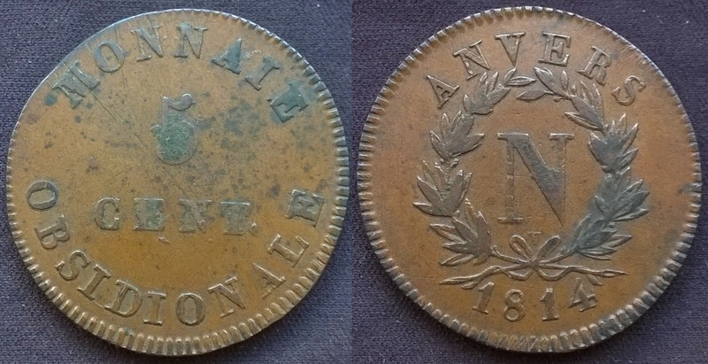 Monnaie de siège obsidionale Napoléon Ier Wp_20133