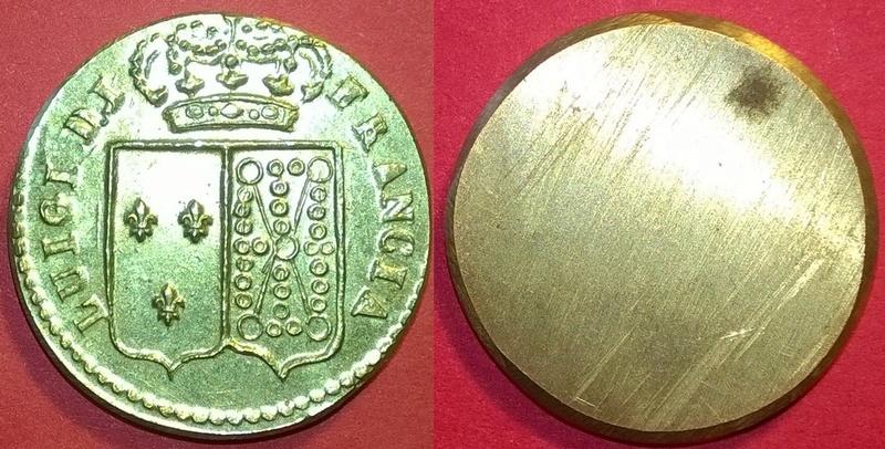 Louis XVI Poids monétaire pour le double louis d'or Wp_20159