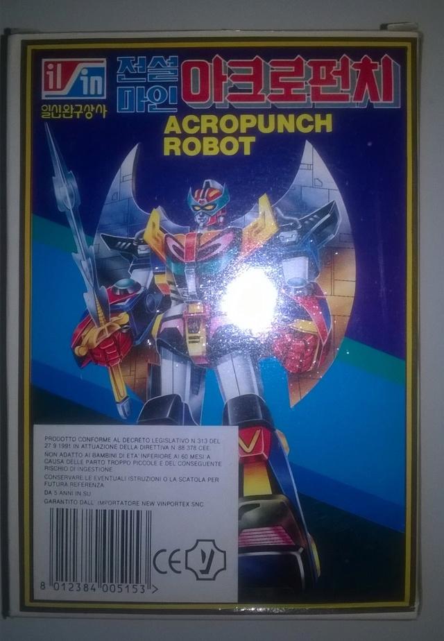 Acropunch Robot tarocco dell'Acrobunch Acropu16