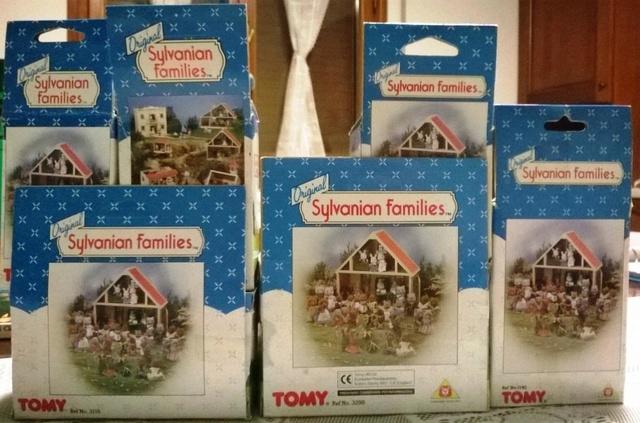 SYLVANIAN FAMILIES TOMY set di mobili Sylv_l10