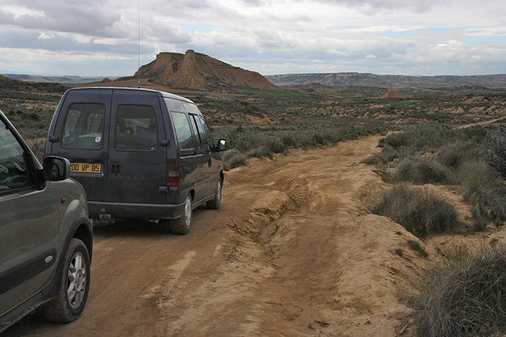 Le voyage dans le désert des Bardenas Bardyn11