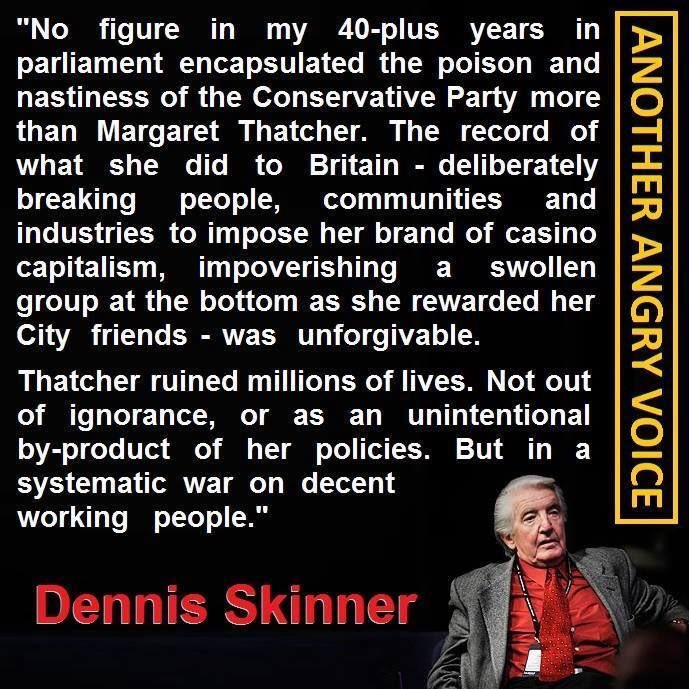 Thatcher changed Britain for the worse - Page 20 Dennis10