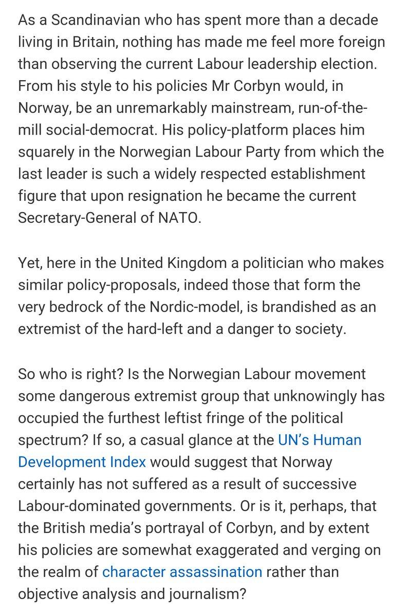 Media bias against Jeremy Corbyn Norweg10
