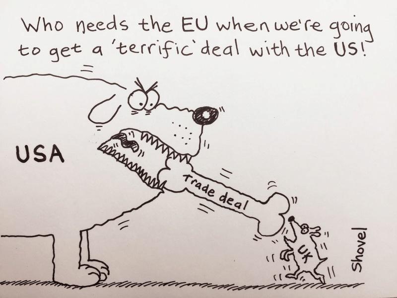 Political cartoons Trade_10