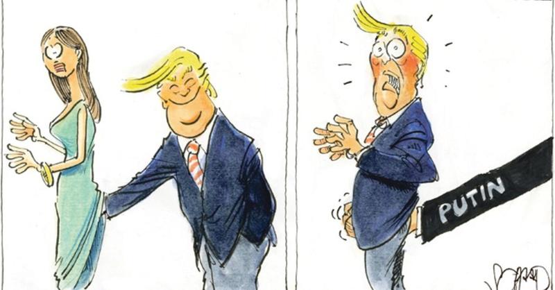 Political cartoons Trump_23