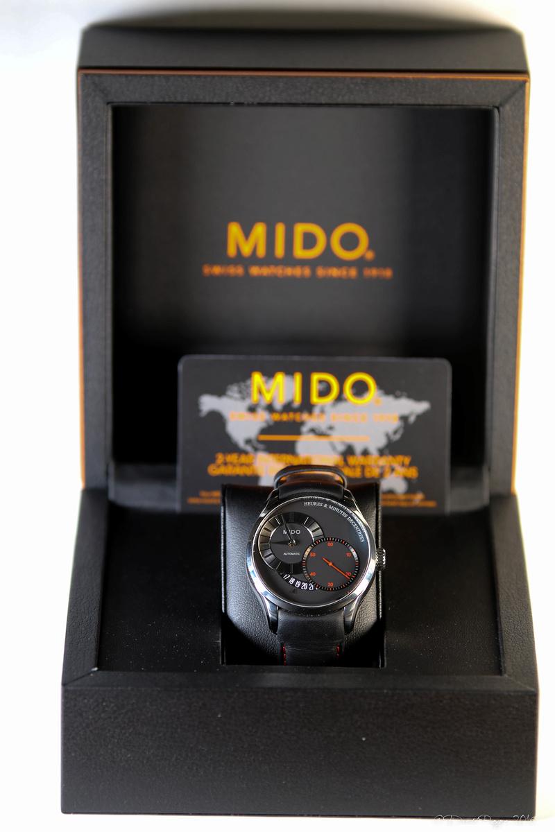 Mido - [Revue] Mido Belluna Heures & Minutes décentrées Img_9818