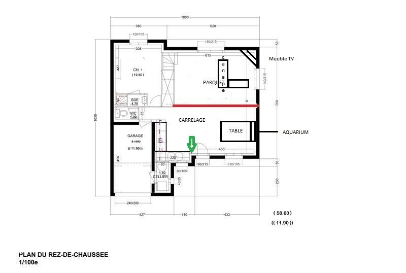 Faire un bureau et une chambre d'amis dans une seul pièce Plan_r13