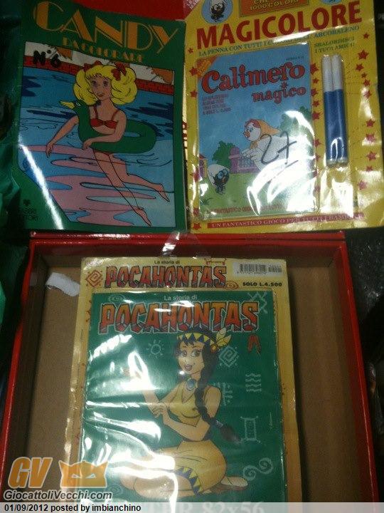 candy - album da colorare candy 1981 , edizioni edigramma 1992 pocahontas e calimero Poca10