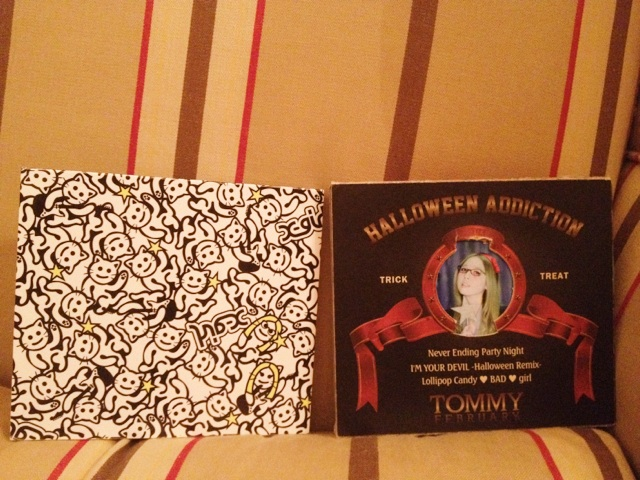 "Tommy  New CD ""Halloween Adiction"" ♥ Cnqtf10"