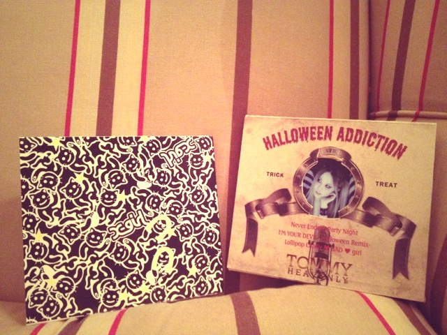 "Tommy  New CD ""Halloween Adiction"" ♥ Optvk10"