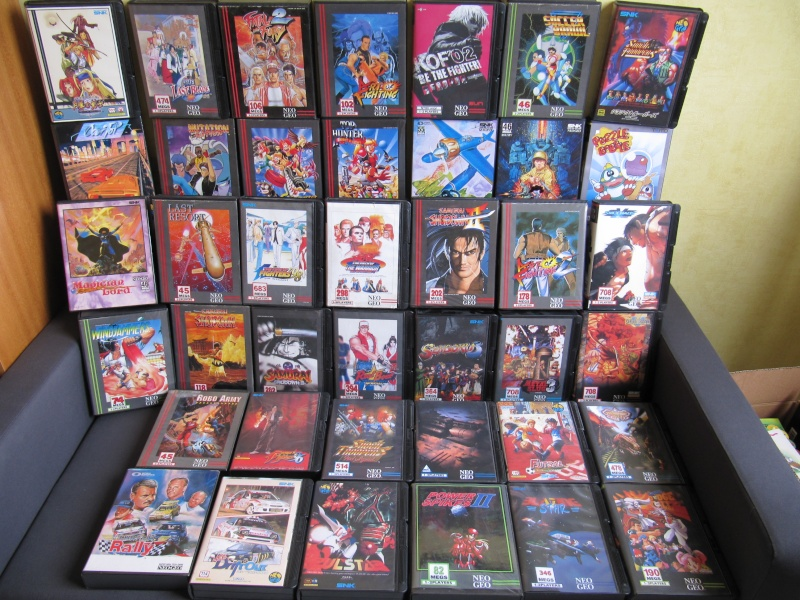 Ma collec' Neo Geo AES US Img_3618