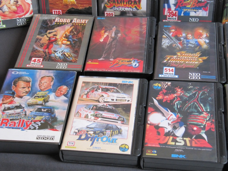 Ma collec' Neo Geo AES US Img_3624