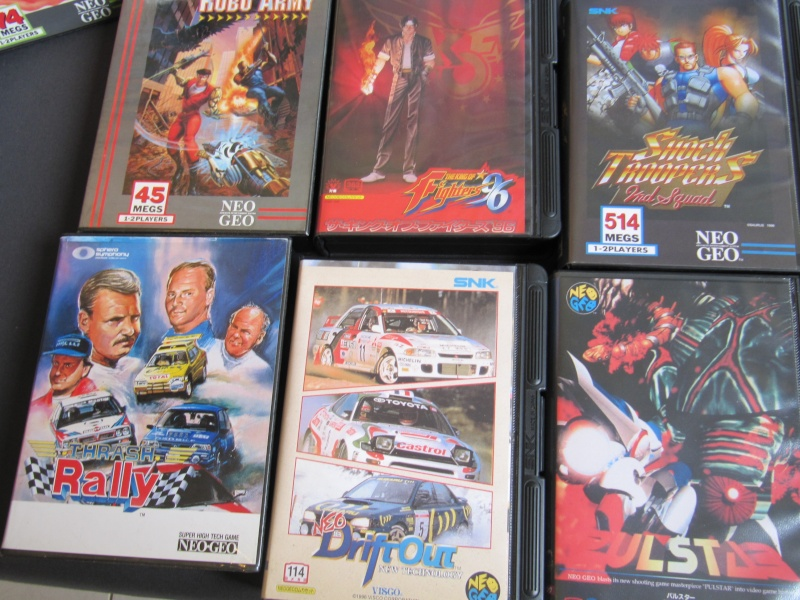 Ma collec' Neo Geo AES US Img_3627