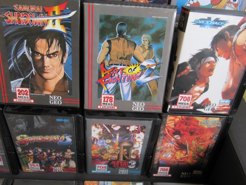 Ma collec' Neo Geo AES US Img_3628