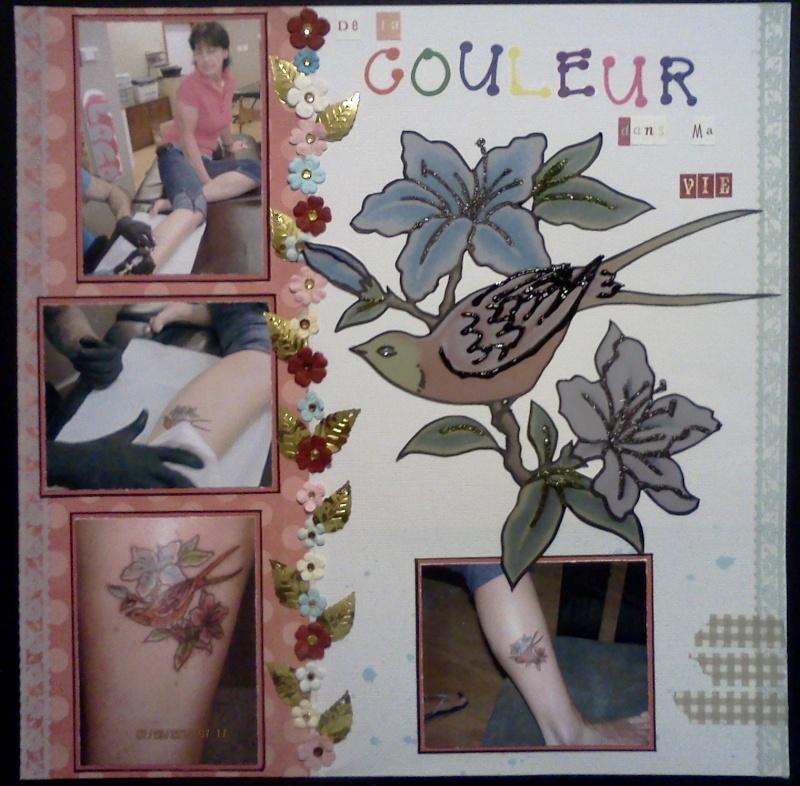 4 sept  ma page ronde 8  (de la couleur dans ma vie) Couleu10