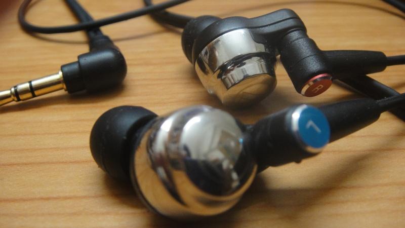 Audio-Technica CK-100 Pro earphones (used) Dsc08912