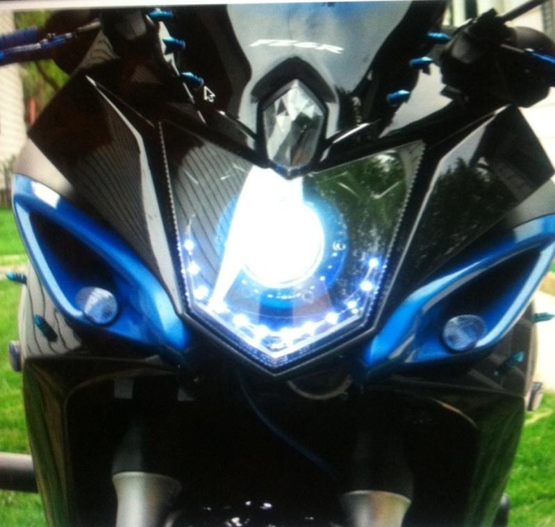 phare xenon lenticulaire Fz6r10