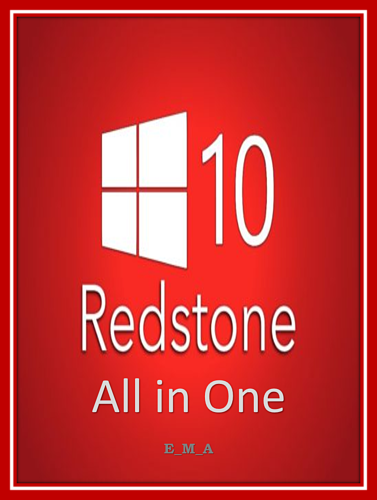 Windows 10 Redstone 1 All in One 14724910